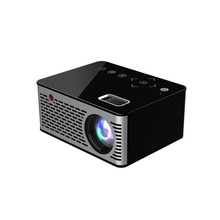 WL-T200 Small Size HD 1080P TFT LCD Portable Home Mini HD Projector TV Home Multi-Media Player Theater Home Cinema Projector цена