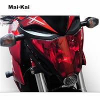 MAIKAI FOR HONDA CB1000R CB 1000R CB1000 R 2008 2017 motorcycle Headlight Protector Cover Shield Screen Lens