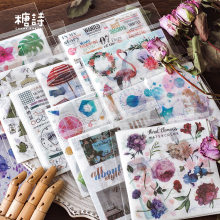 10 Sheets/pack Island Travelling Washi Stickers Decorative Stationery Craft Stickers Scrapbooking Diy Diary Album Stick Label(China)