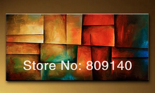 Aliexpress.com : Buy free shipping abstract oil painting on canvas ...