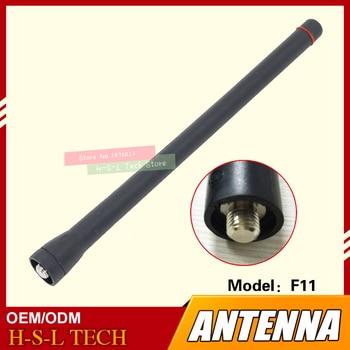 Walkie Talkie Rubber Antenna 136-174Mhz VHF MOTO Type Interface For ICOM IC-F11 IC-F21 F26 F14 F15 F16 F33 F34 F7 F3 F11 F3000 цена 2017