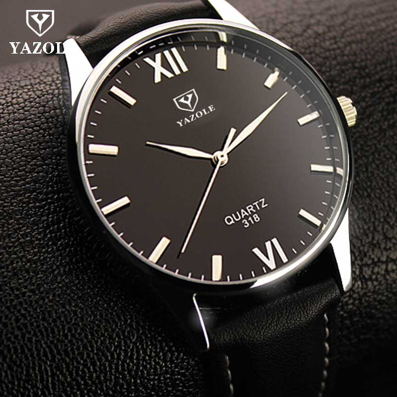 YAZOLE Wrist Watch for Men Brand De Luxe Famous Wristwatch for Men Quartz Clock Watch Hodinky