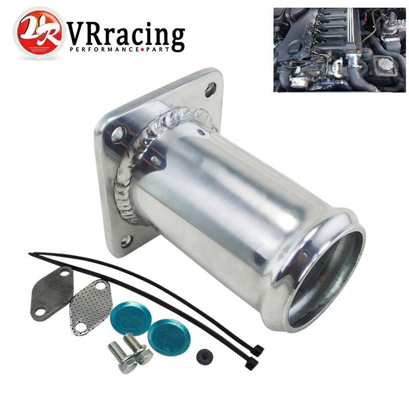 De aluminio de EGR borrar Kit/EGR KIT de eliminación de tapón BYPASS para BMW E46 318d 320d 330d 330xd 320cd 318td 320td VR-EGR07