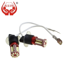 KEIN 2PCS h8 h11 led Bulb 57SMD H1 H3 H7 9005 9006 880 881 H27 HB3 HB4 Fog lights Signal Bulbs car led DRL Daytime Running auto