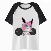 bb0655c5a00b Jigglypuff t shirt roupas harajuku t-shirt tee fêmea gráfico tops mulheres  camiseta femme K4428 dos desenhos animados do kawaii