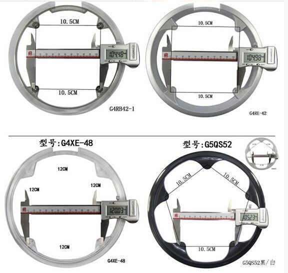 MTB 36 T/40 T/42 T/44 T/46 T/48 T/52 T cubierta de plástico de la rueda de la cadena anillo de protección universal