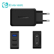 Tronsmart Quick Charge 3.0 USB Wall Travel Charger 42W 1 and 2 VoltIQ Ports