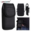 LANCASE Bag For Phone Pouch For Xiaomi Redmi Note 5/4X/4A Phone Bag For iPhone 7/6 Cases 360 Rotation Clip Belt Phone Case