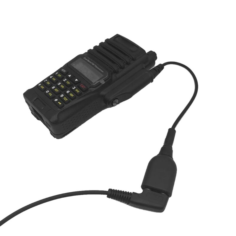 Walkie Talkie Radio Audio Adapter Converter Cable Wire For A 58 K Interface Headset Port Accessories