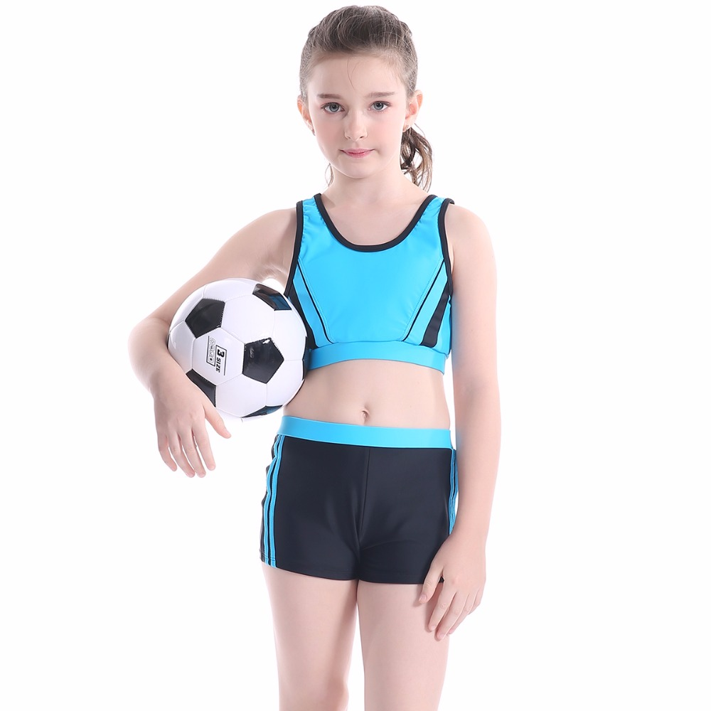 5 14 Years Toddlers Cute Short Sleeve Children Swimwear -9218