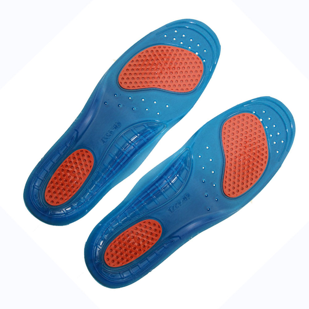Unisex Orthotic Arch Support Sport Shoe Pad Sport Running Gel Insoles Insert Cushion for Men Women foot care Sport insoles 2017 new 1pair s size unisex orthotic arch support sport shoe pad sport running gel insoles insert cushion for men women st1