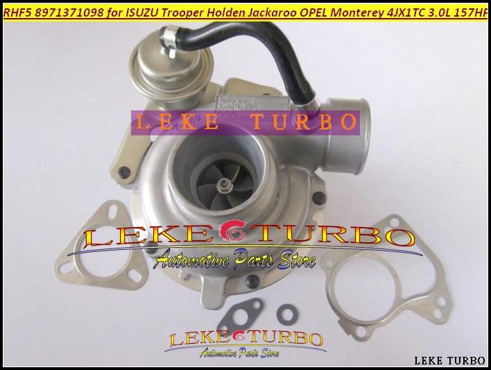 RHF5 8971371098 8973125140 Turbo Turbocharger For ISUZU Trooper 00- Jackaroo 99-04 For OPEL Monterey 98- 3.0L 4JX1T 3.0L free ship turbo cartridge chra for jackaroo for isuzu d max trooper monterey 4jx1t 3 0l rhf5 8973125140 8971371093 turbocharger