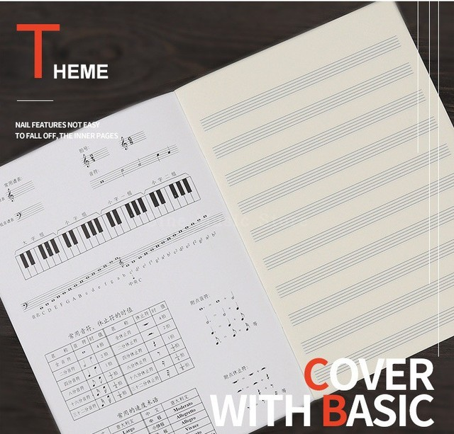 Music Book For Piano
