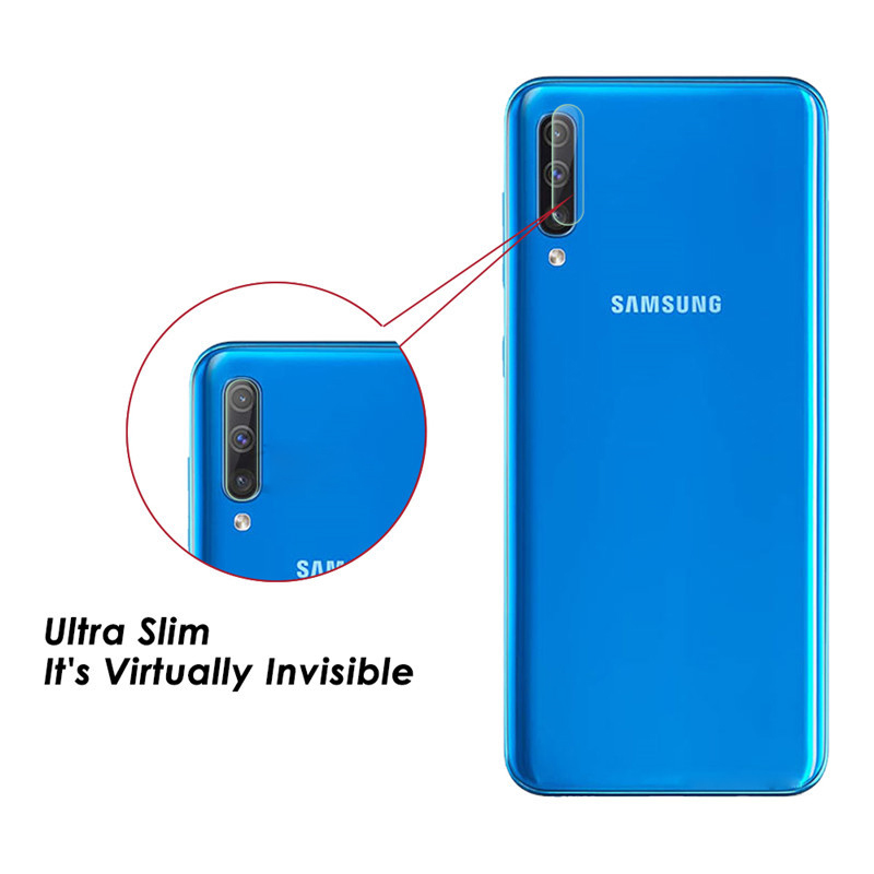 Image 3 - 2Pcs For Samsung Galaxy A50 A70 Camera Lens Film Protector Safety Glass For Samsung A 50 70 Phone Lens tempered Glass Protection-in Phone Screen Protectors from Cellphones & Telecommunications