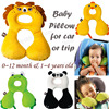 0 4 Years Old Baby Bedding Neck Protection Pillow Cute Animal Design Children Travel Pillows Head