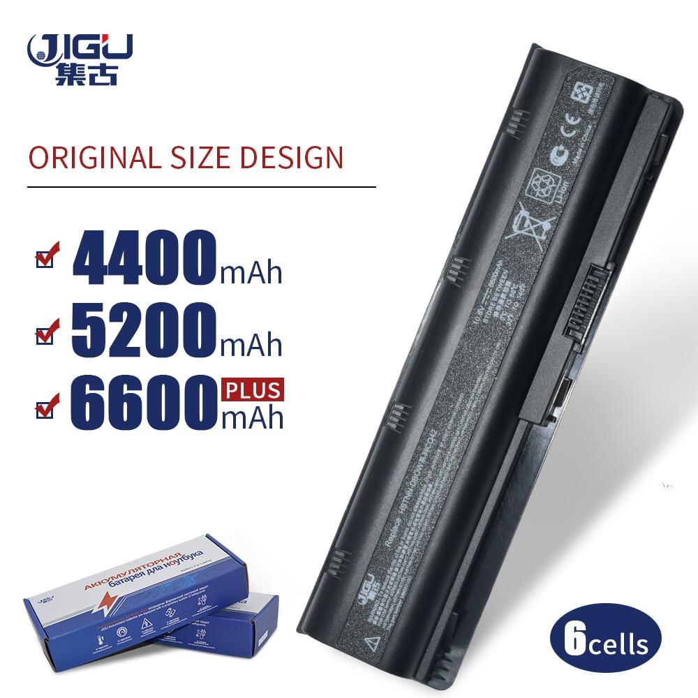 JIGU batería del ordenador portátil para HP pabellón DM4 DV3 Dv6-3000 G32 G62 DV5 G56 G72 para COMPAQ Presario CQ32 CQ42 CQ56 CQ62 CQ630 CQ72 MU06