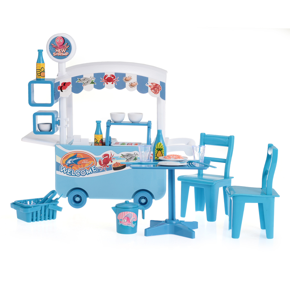 Plastic Children Kids Boys Pretend Play Toys Car Table Chairs ...