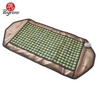 BYRIVER Far Infrared Electric Heating Jade Tourmaline Germanium Ceramic Massage Bed Mattress