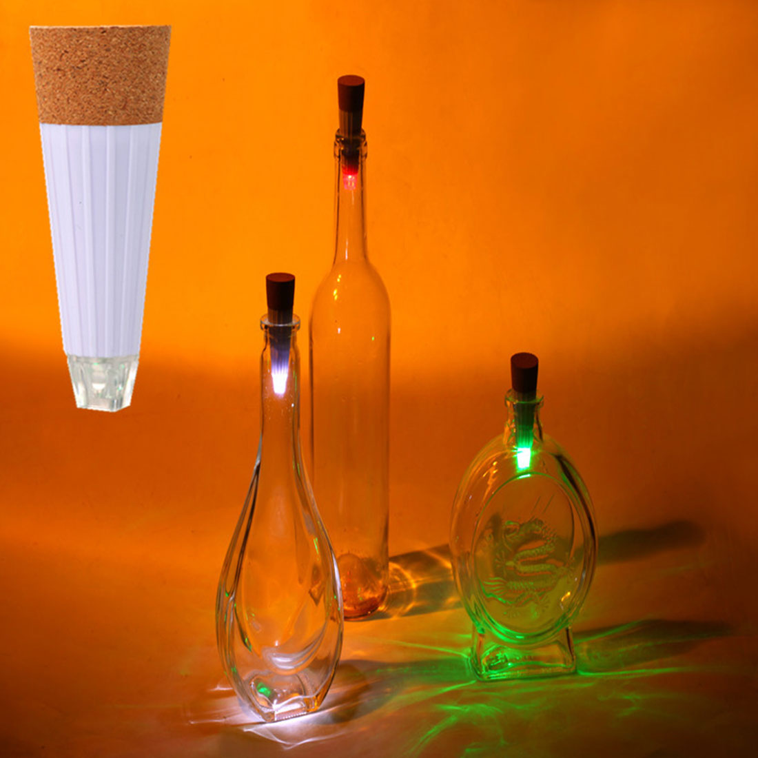 Computer & Office Persevering Noyokere Good Sale Party Decor 1pc Cork Shaped Rechargeable Usb Led Night Light Wine Bottle Lamps