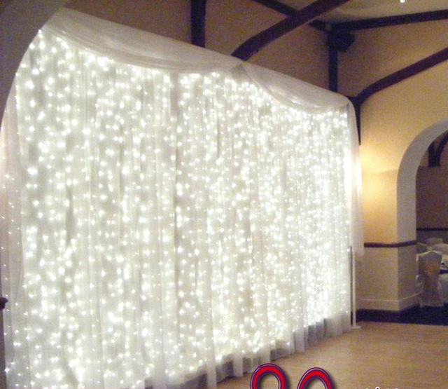 Wedding Backdrops With Lights: Hot Sale Wedding Decoration Wedding Backdrop Curtain