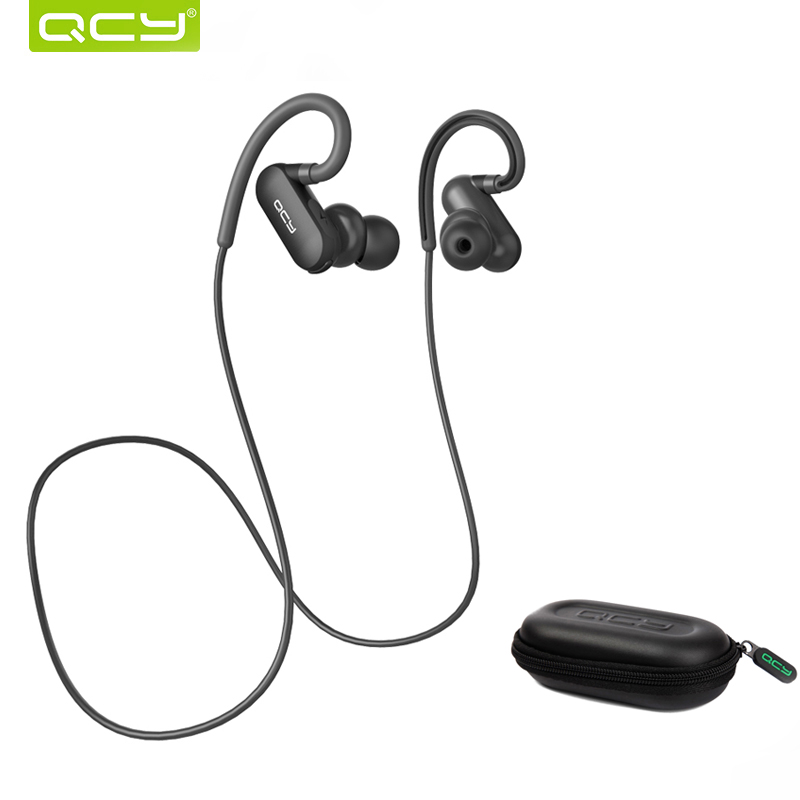 QCY QY31 Sports Bluetooth Earphone with Mic Wireless Waterproof Headset In-ear Earbuds with Free Portable Storage Box цена 2017
