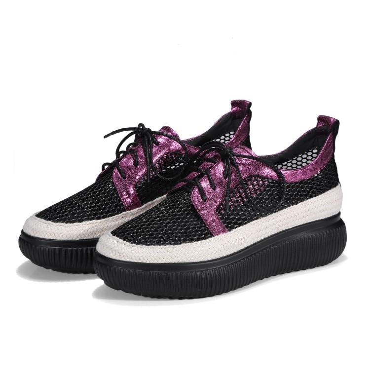 Transpirables 2018 Mujeres Mujer Plataforma {zorssar} Nuevo Tinto Gris De Zapatillas Zapatos Cómodos vino Planos Ocasionales Deporte Verano Mocasines 6PPzdq