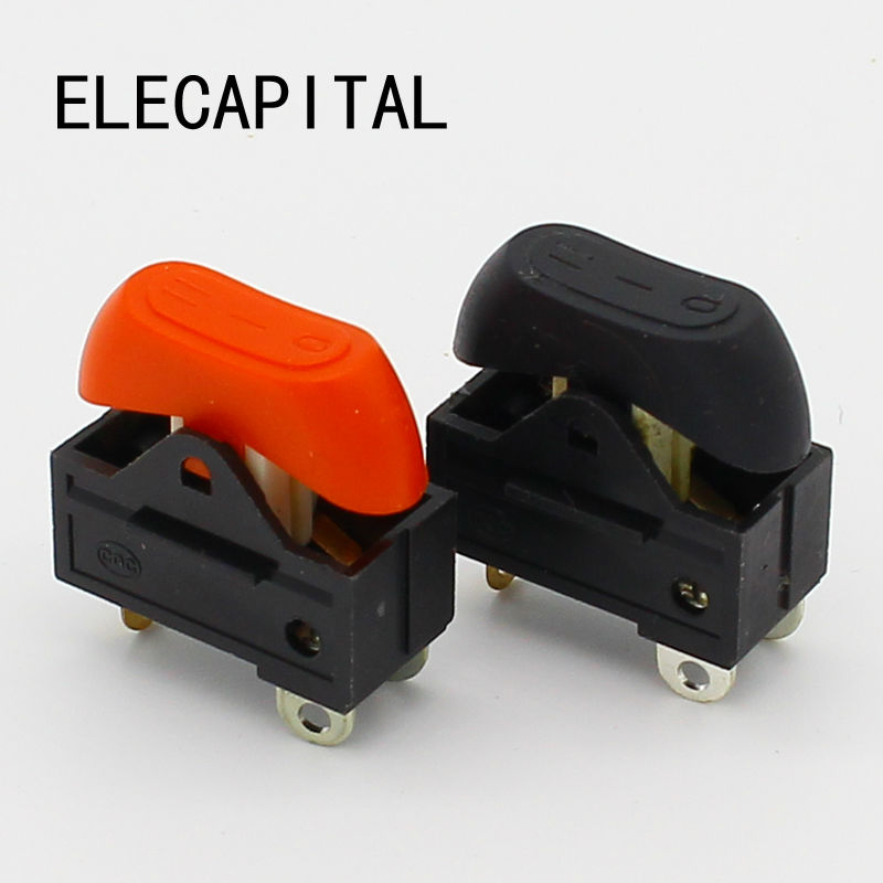Hair dryer switch,Rocker Switch,3 position ON OFF boat switch 5pcs lot high quality 2 pin snap in on off position snap boat button switch 12v 110v 250v t1405 p0 5