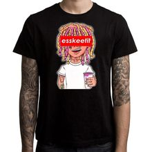 a43424a708f1 phiking Lil Pump Esskeetit T-Shirt Men Clothing Male Slim Fit T Shirt  Cotton Top Tee