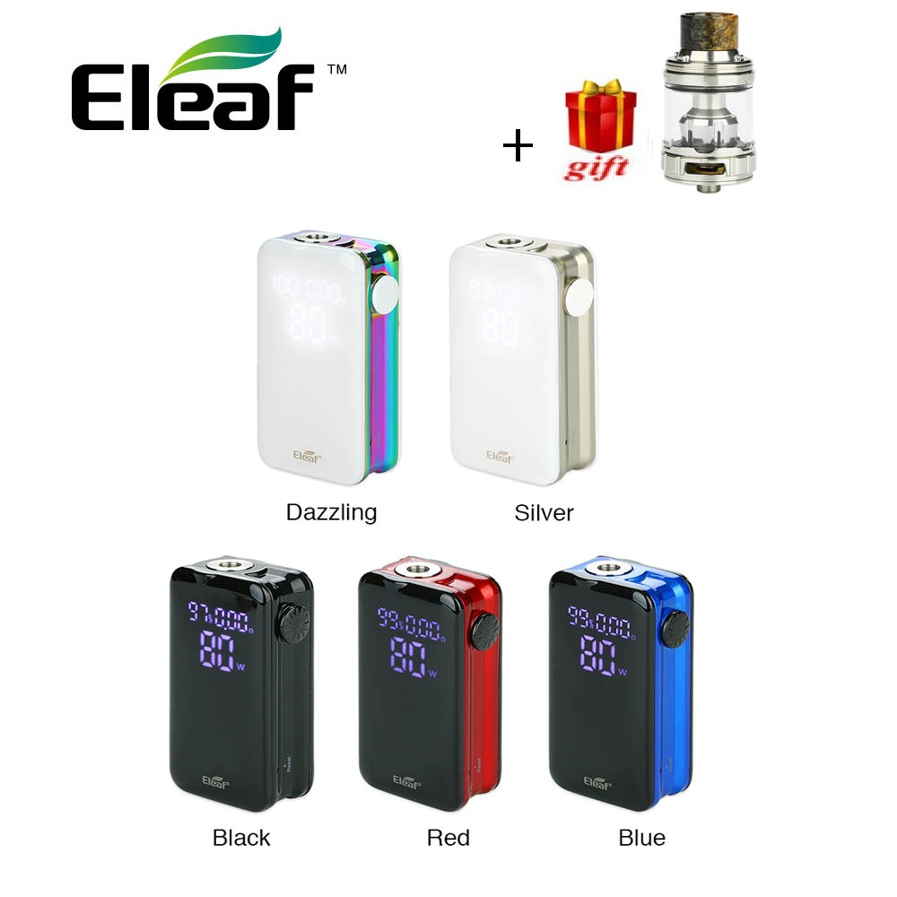 Gift 100 Original Eleaf iStick NOWOS Box Mod with 4400mAh battery 2ml Tank supports QC3 0