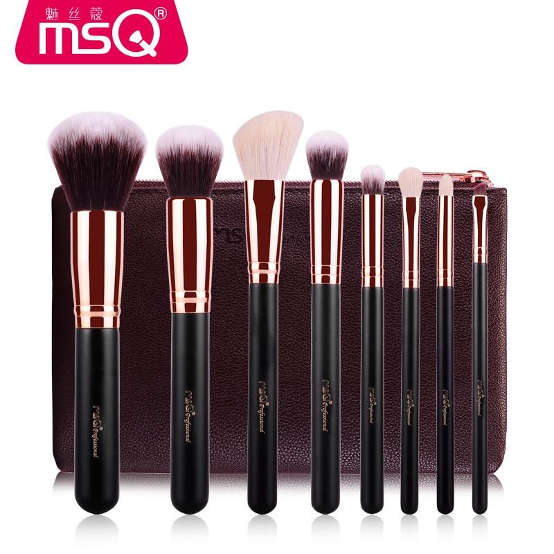 Pro High Quality 8 Pcs Makeup Brushes Foundation Blending Blush Eyeshadow Brush Women Beauty Make Up Maquiagem Cosmetic tools