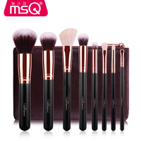Pro High Quality 8 Pcs Makeup Brushes Foundation Blending Blush Eyeshadow Brush Women Beauty Make Up Maquiagem Cosmetic tools