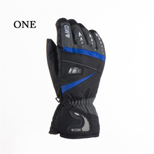 New Top Quality Waterproof Men Ski Gloves Snowboard Snowmobile Gloves Motorcycle Riding Winter Gloves Windproof Snow