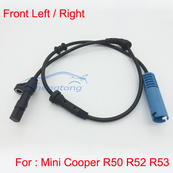 ABS Wheel Speed Sensor Front Left Right for Mini Cooper R50 R52 R53 34526756384 NEW 34 52 6 756 384