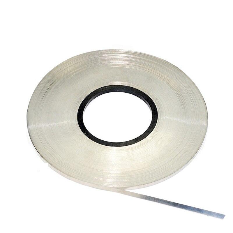 1kg 0 15 x 8MM Nickel Plated Steel Strap Strip Sheets For 18650 Battery Spot Welding Machine Welder Equipment Connecting Piece