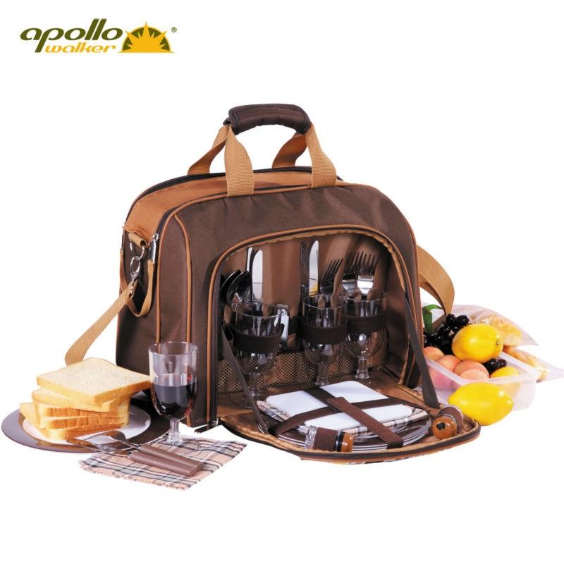 Apollo lunch bag lining Aluminum Foil picnic cooler bag portable dinnerware set sooktops full set set 16 piece indoor outdoor melamine dinnerware set yellow