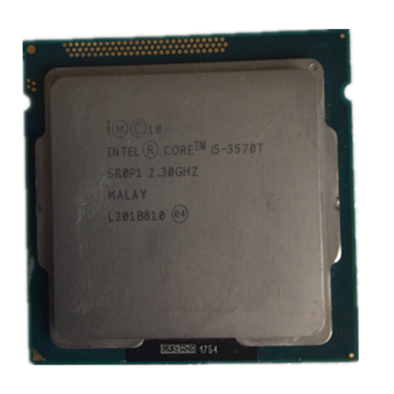 INTEL ORIGINAL  I5 3570T Processor LGA 1155 Quad-core 2.3GHZ 45W Desktop Cpu