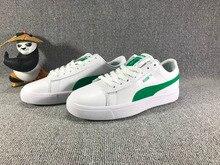 Original BTS x Puma Collaboration Puma Court Star Korea Cadet shoes Women's Sneakers Badminton Shoes Size36-39