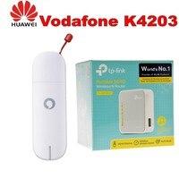 Vodafone 3G USB Huawei K4203 Mobile Broadband Modem Dongle + TP Link TL MR3020 150 Mbps 1 Port 10/100 Wireless N Router