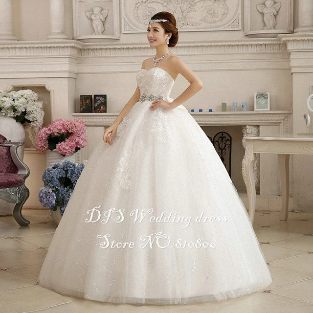 Online Shop LAMYA Customize Pregnant With Crystal Wedding Dresses ...