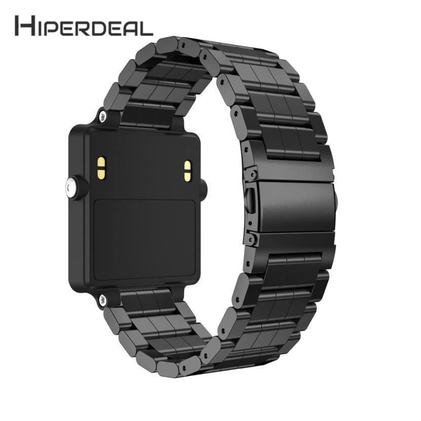 HIPERDEAL New Stainless Steel Bracelet Smart Watch Band Strap For Garmin Vivoactive Acetate 18Jan05 Drop Ship F