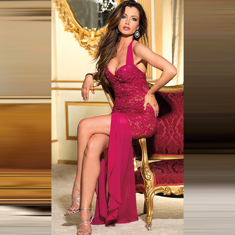 Formal Gown Sexy - 2016New Porn Women Hot Costumes Sexy Dress Underwear Black Erotic Lingerie  Lace Transparent Exotic Dancewear Elegant Sleepwear-in Babydolls & Chemises  from ...
