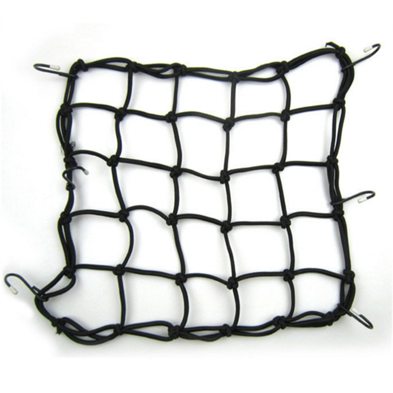 Motorcycle Tank Net Belt Helmet Net Loose Baggage Net Daw Knight Equipment Mesh Elastic Banded Wire Rope 5 color