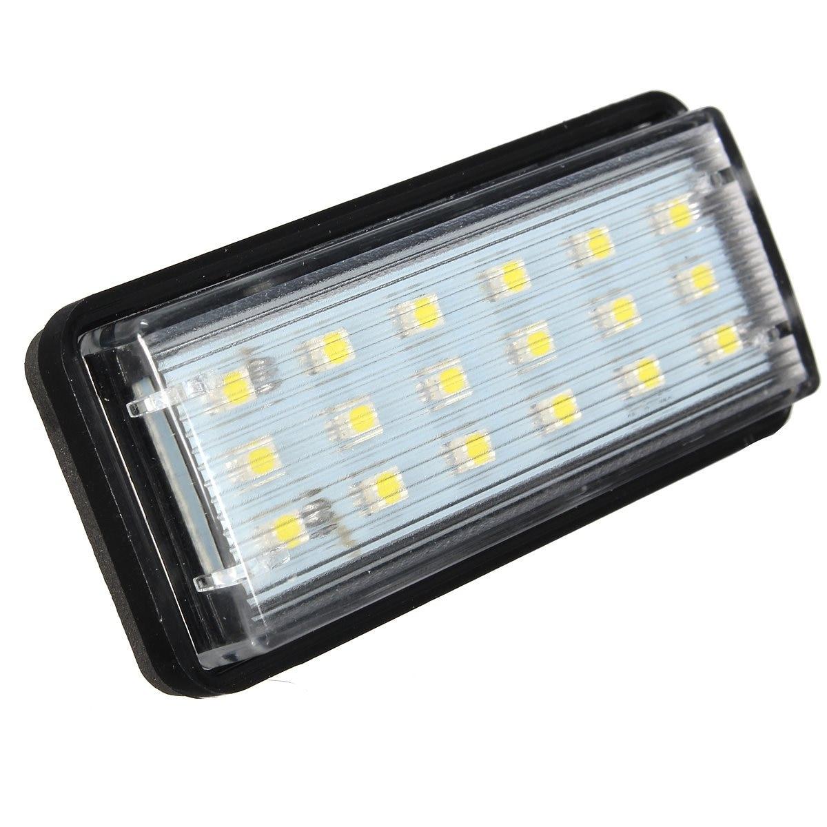2x Error Free LED SMD License Plate Light For Toyota/Land/Cruiser/Lexus/GX LX470 2pcs error free led smd license plate light for toyota land cruiser lexus gx lx470 new dropping shipping