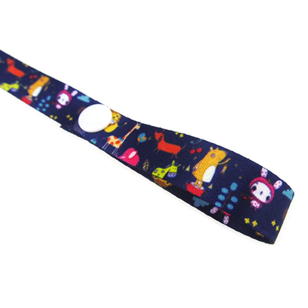 60 см* 1,5 см детская Нескользящая вешалка, держатель для ремня, игрушки, ремень для коляски, фиксированная Автомобильная цепочка для соски, высокое качество, для детских принадлежностей - Цвет: N