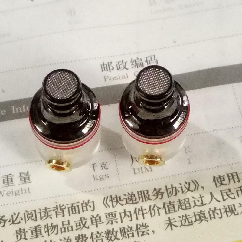 10 pair New Diy circle iron 10mm 29689 earphone shell for diy earphone headset