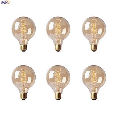 IWHD Bombillas Vintage Light Bulbs For Home Decorative 40W E27 220V Edison Bulb Lamp Retro Bulb Incandescent A19 G80 St64 T45