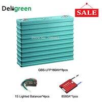 4pcs GBS LEF160AH Balanceador de Bateria Para UPS sistema de tensão Da Bateria/60A 8S placa de proteção pcm|Baterias recarregáveis| |  -