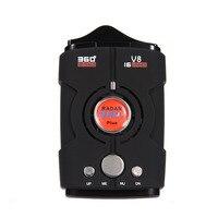2017 Multi Function V8 360 Degree Car Radar Detector 16 Band Full Auto Bilingual Voice Warning
