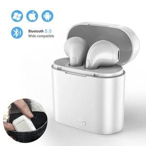 Image 1 - I7s TWS Mini écouteurs sans fil Sport Bluetooth écouteurs avec boîtier de charge micro stéréo Android casque pour iPhone Xiaomi