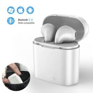 Image 1 - I7s tws mini fones de ouvido sem fio esporte bluetooth fone com caixa carregamento microfone estéreo android para iphone xiaomi